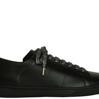 moon sneakers black shoes