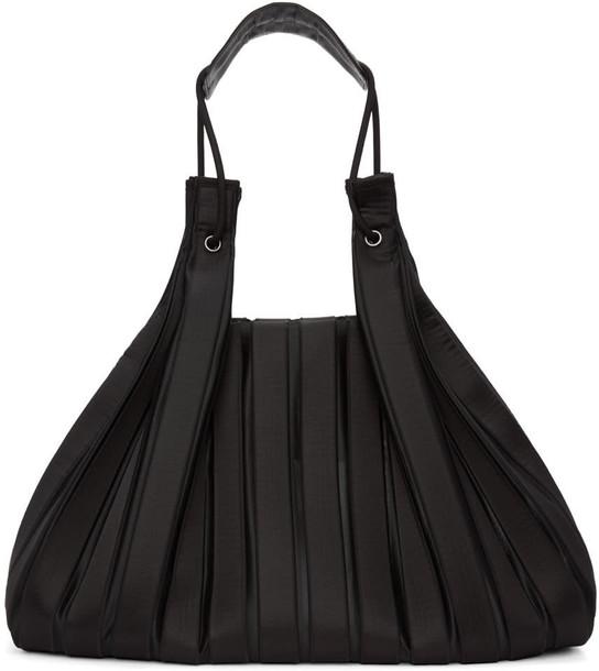 black knit bag