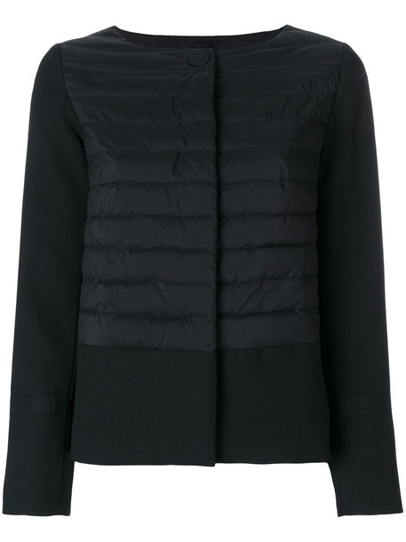 Herno jacket women fit cotton black