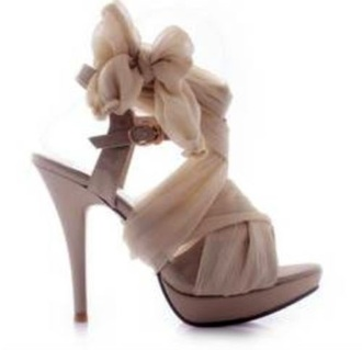 shoes blush pink heels bow