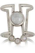 Pamela love comet antique silver moonstone cuff – 55% at the outnet.com