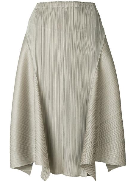 Pleats Please By Issey Miyake skirt women nude