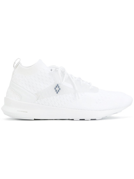MARCELO BURLON COUNTY OF MILAN women sneakers white cotton shoes