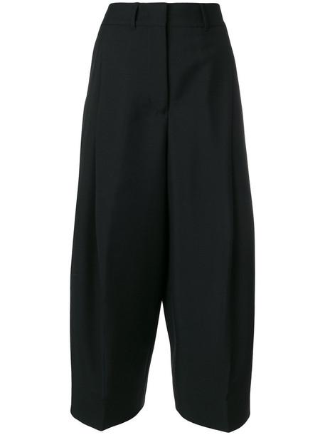 pants high waisted pants high waisted high women mohair cotton black wool