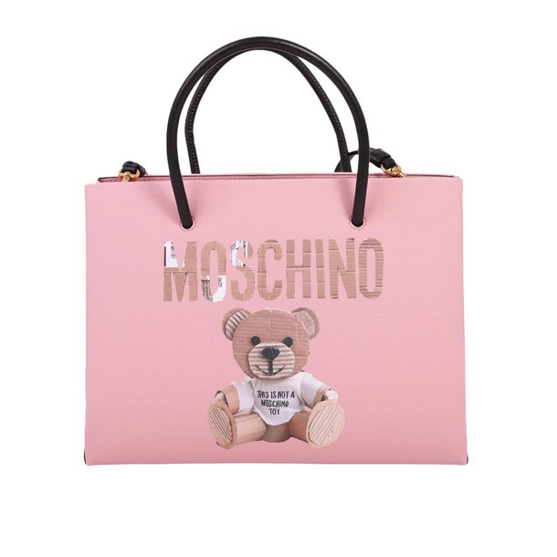 Moschino women bag handbag shoulder bag pink