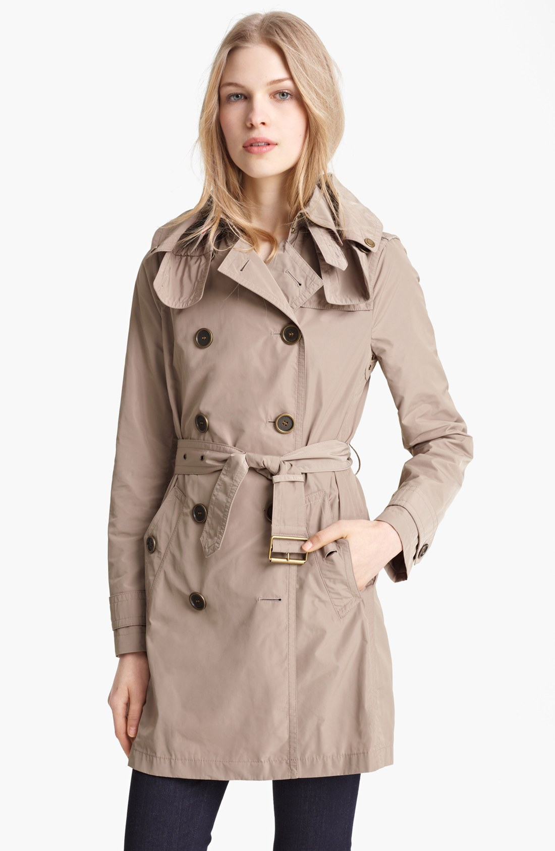 Burberry Brit Balmoral Packable Trench Nordstrom