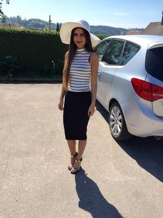 hat white hat kendal jenner white hat stilettos