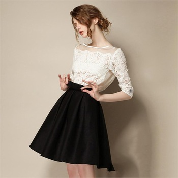 Fashion Autumn Summer Style High Waist Tutu Skirts Womens Midi ...