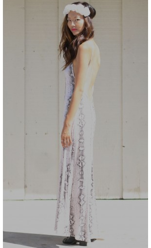SNAKE SKIN MAXI DRESS | WOMEN'S MAXI AND MINI DRESSES | STYLE DESTINATION FOR THE LOVERS & THE FIGHTERS | MUSTARDCARTEL.COM