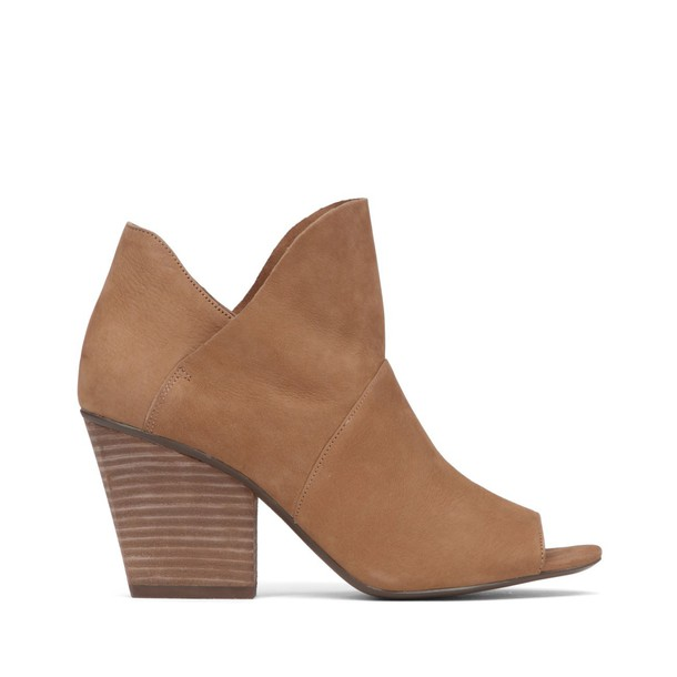 Vince Camuto Chantina Peep Toe Bootie - Moroccan Taupe-6
