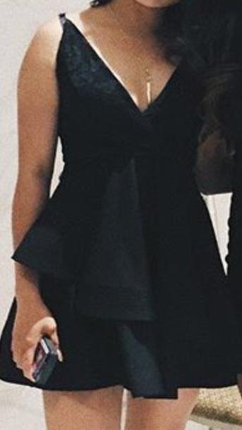 dress black dress black skater dress