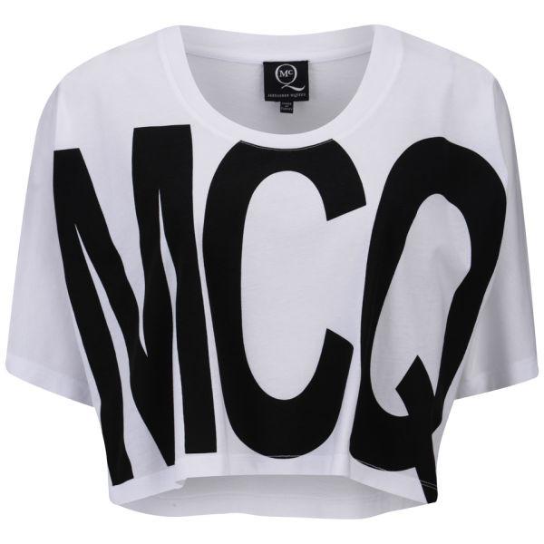 t-shirt alexander mcqueen mcq