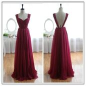 burgundy,burgundy dress,maxi dress,open back,dress,red,prom,burgandy prom dress,prom dress,wow,summer,leavers,ball,dance,graduation,no school,party,sexy,gorgeous,likeit,promise,2015,sexy dress,gorgeous dress,likeitup,need it for summer,promise ring,prom gown