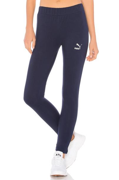 puma navy pants