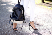 bag,persunmall,black,summer,backpack,persunmall bag,white