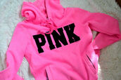 sweater,pink,black,tank top