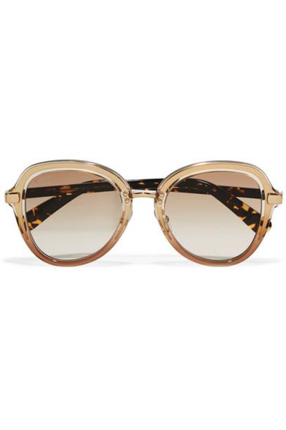 Jimmy Choo sunglasses gold