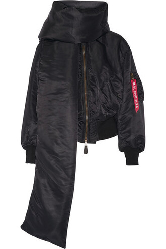 jacket bomber jacket shell black