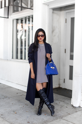 jewels blogger bag walk in wonderland coat navy