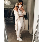 cardigan,on point clothing,oversized cardigan,oversized,cream,white top,white crop tops,pants,white shoes,tumblr,tumblr outfit,tumblr girl,blonde hair,gorgeous,fashionista,chill,rad,style,girly,cool,girl,swag,beautiful