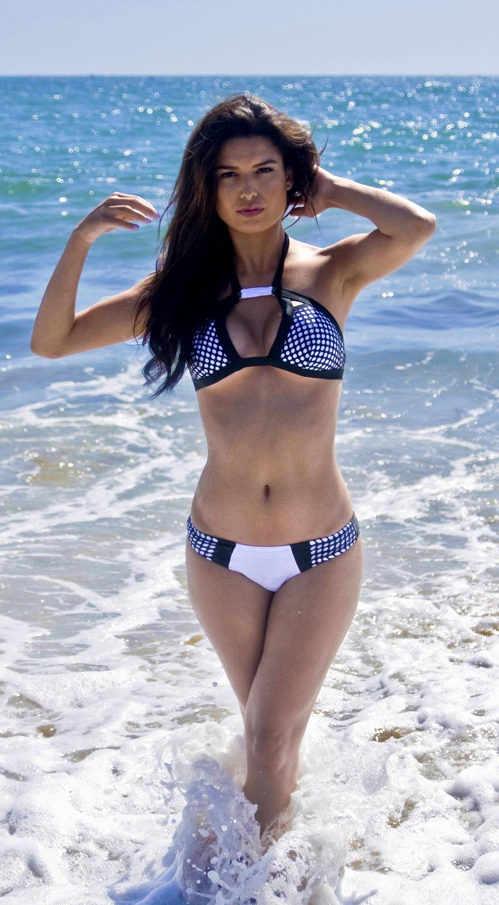 Summer time fine bikini bottom