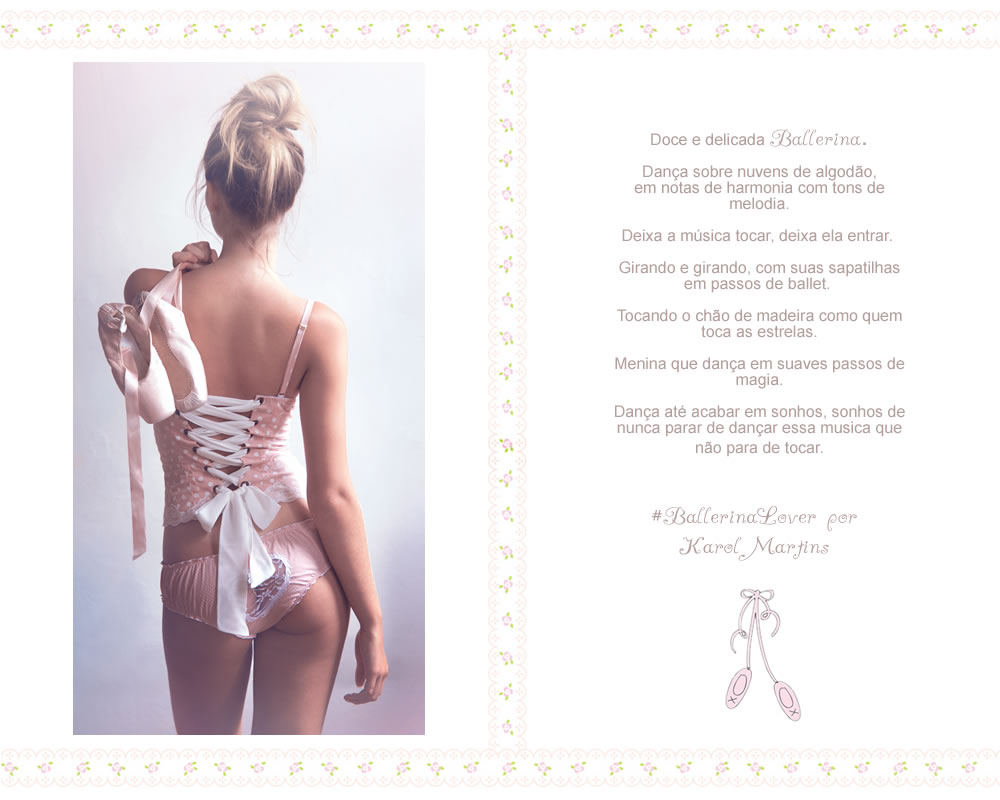 Hand made lingeries