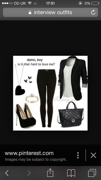 sweater trendy blazer black dress interview fashion urban shoes