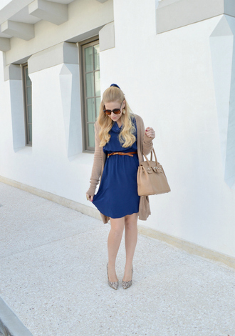 earrings fash boulevard blue dress