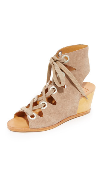 Dolce Vita Lei Wedges - Taupe