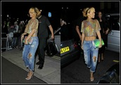 t-shirt,rihanna,holographic,crop tops,silver,shimmery,hologram crop top,pants