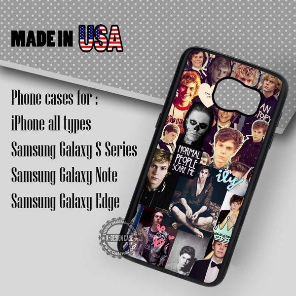 Samsung S7 Case - Evan Petters Collage, Asylum- iPhone Case #SamsungS7Case #movie #yn