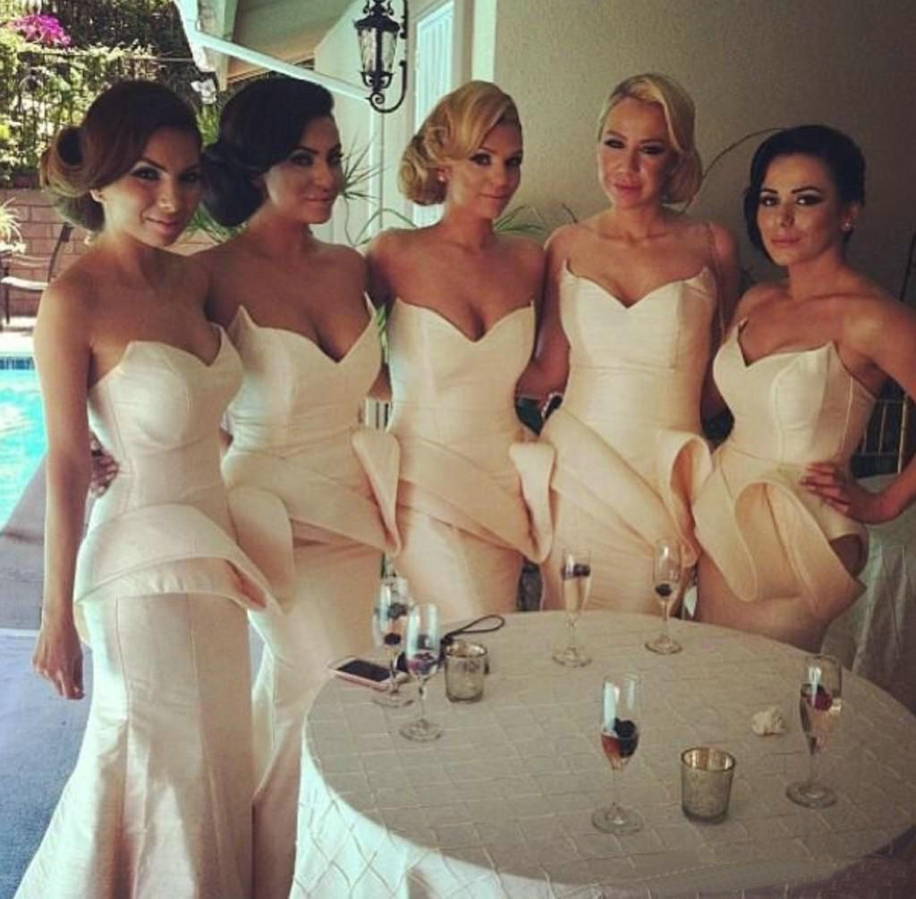 Wholesale Bridesmaid Dress - Buy New Big Discount 2014 Perfect Sweetheart Strapless Convertible Bridesmaid Dresses for Wedding Party Mermaid Dress, $86.55 | DHgate