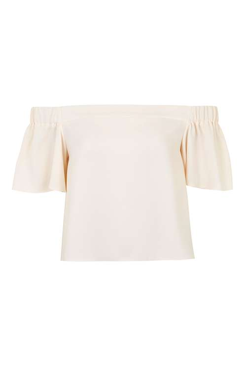 Stuctured Bardot Top