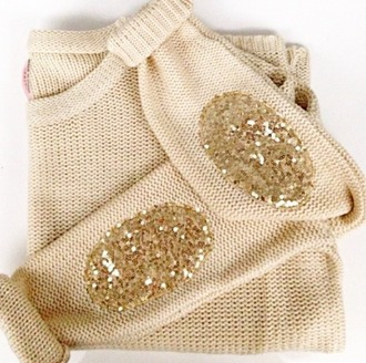 sweater glitter sequins