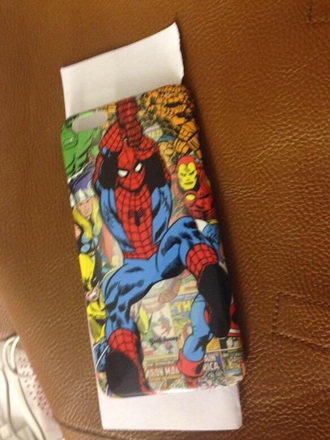 phone cover marvel spider-man comics iphone iphone cover iphone 6 superheroes iron man thor hulk the avengers