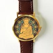 jewels,https://www.etsy.com/listing/248410073/buddha-hamsa-mandala-watch-vintage-style?ref=shop_home_active