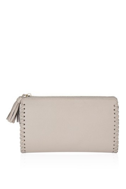 Topshop purse grey bag