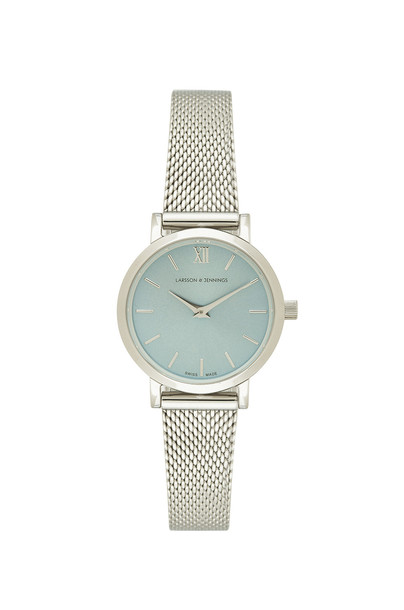 Larsson & Jennings watch metallic silver jewels