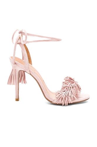 heel blush shoes