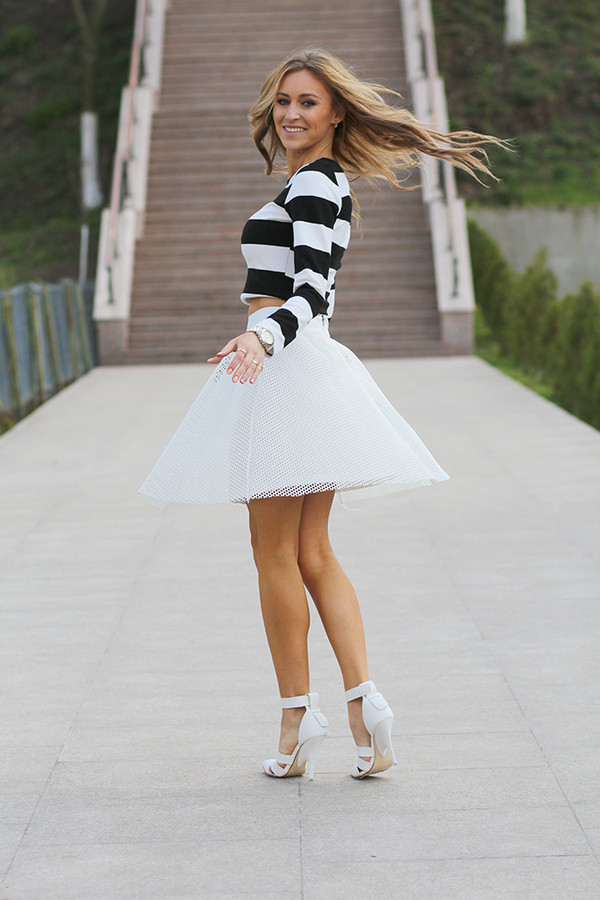 fashion spot skirt shoes t-shirt