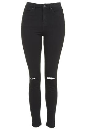 schwarze moto jamie jeans im destroyed look jeans. Black Bedroom Furniture Sets. Home Design Ideas