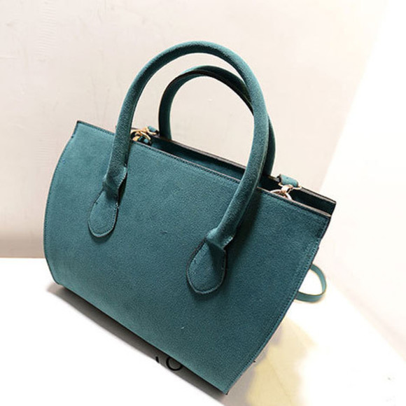 bag fashion blue bag