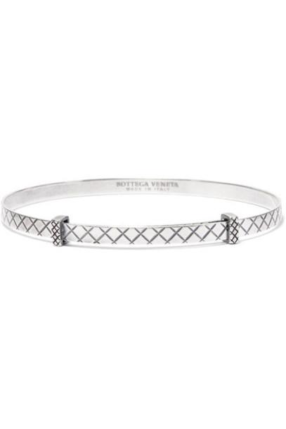 Bottega Veneta silver bracelet silver jewels