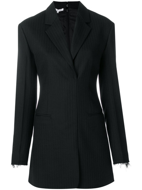 dress blazer dress women spandex black wool