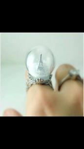 jewels,snow globe,ring
