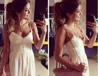 dress summer dress lace lace dress summer white dress summer white lace dress bustier bustier dress