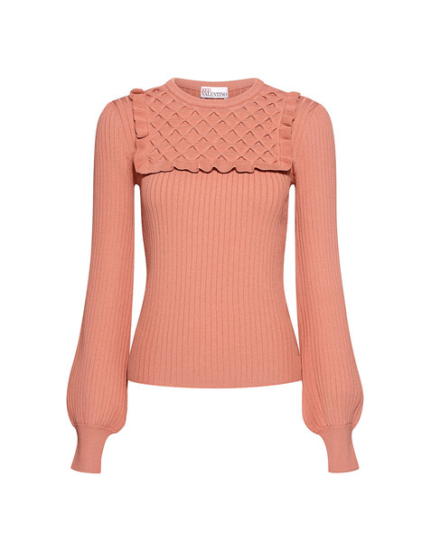 RED VALENTINO sweater rose