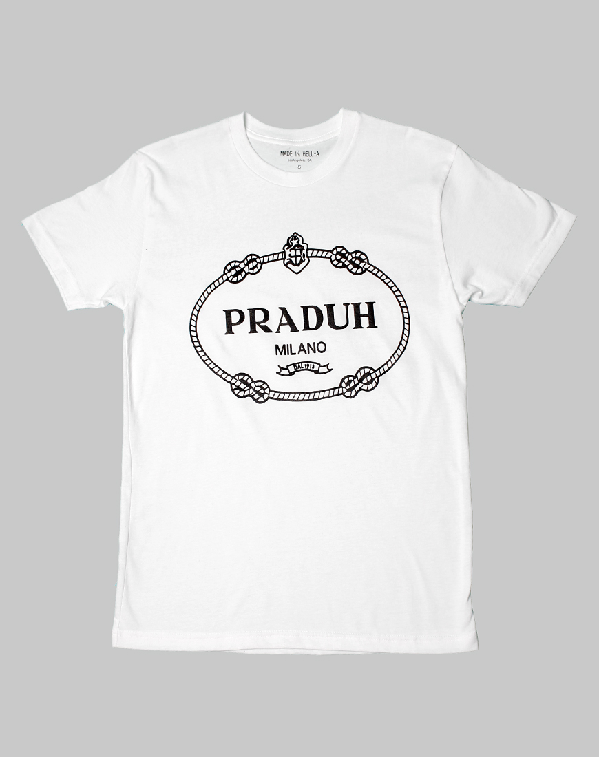 Buy Made in Hell A T PRADUH T Shirt at Motel Rocks