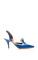 Malone souliers blue yvette sling