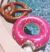 home accessory,free vibrationz,donut,donught,pink sprinkle donut,donut pool float,donut floatie,pool float,pool,pool party,gigantic donut pool float,pool accessory,freevibrationz